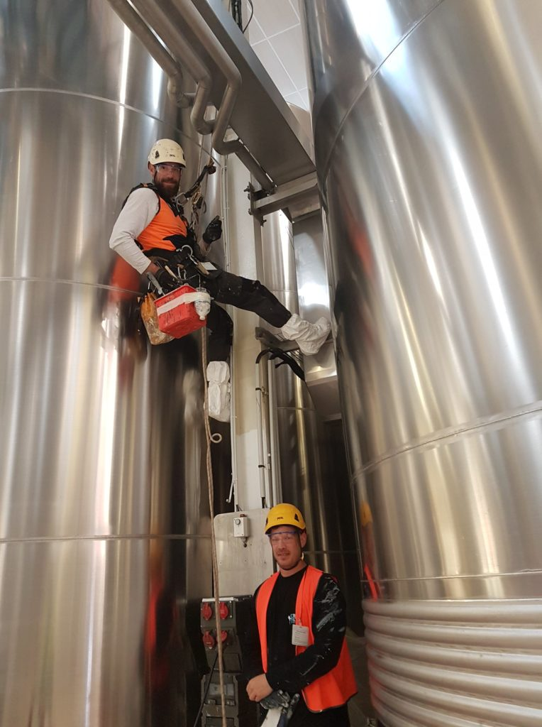 nettoyage travaux silos reims